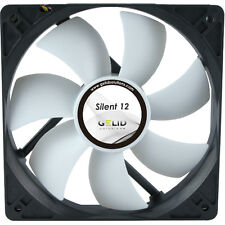 GELID Solutions Silent 12 120mm Case Fan 1000 RPM, 37 CFM, 20.2 dBA (FN-SX12-10)