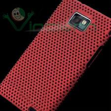 Custodia GRID ROSSA per Samsung Galaxy S2 i9100 S II