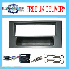 FP-07-07 FORD MONDEO 2003 - 2007 GUN METAL SINGLE DIN FASCIA FACIA FITTING KIT