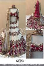 Bollywood Indian Lehenga Choli Party Wear Wedding Pakistani Lehenga Lengha Dress