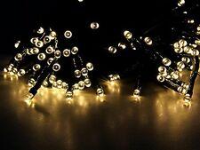 New Esky Solar Powered Outdoor Led String Light 55Ft 17M 100 Fairy Li *FROM UK*