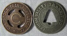 VERY OLD Conestoga Lehigh Valley Transit Tokens Collection whotoldya Lot 7917