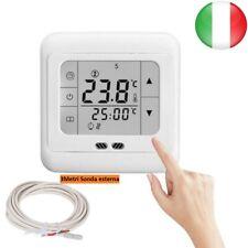 Touchscreen Termostato Digitale Elettrico Riscaldamento ambiente programmabile
