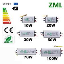 10W 50W 100W LED Driver 1-5 paquet Transformateur de pilote imperméable IP65 DIY