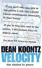 Velocity by Dean Koontz - Small Paperback - 20% Bulk Book Discount