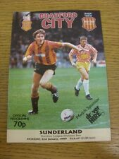 02/01/1989 Bradford City v Sunderland  . Thanks for viewing this item, buy in co