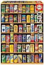 EDUCA JIGSAW PUZZLE CANS 1500 PCS SODA POP #14446