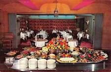 Montclair New Jersey Three Crowns Restaurant Interior Vintage Postcard K44984