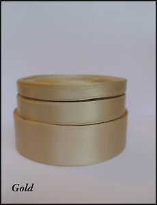 Satin Ribbon 6mm 12mm 25mm Single Sided for Gift Cake Card