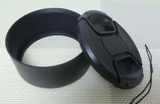 77 mm Metal Camera Lens Hood + 82 mm Cap for Tele Lens 77TC82