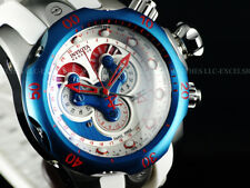 Invicta Reserve 18536 PATRIOT'S Venom Swiss Made 5040F Master Chrono White Diver