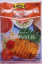 LOBO Satay Seasoning Mix Sauce & Seasoning 3.5oz FREE SHIPPING NEW STOCK