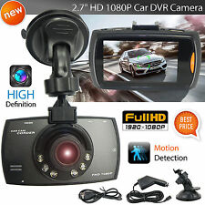 1080P Auto CAR DVR IR Night Vision Vehicle Video Camera Recorder Dash Cam LCD YK