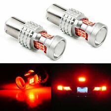 JDM ASTAR 2Pcs BAY15D 1157 Car Tail Stop Brake Light LED Lamp Bulb 7528 2357 Red