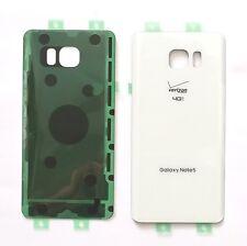 Original OEM Battery Back Cover Samsung Galaxy Note 5 Verizon N920V ~WHITE PEARL