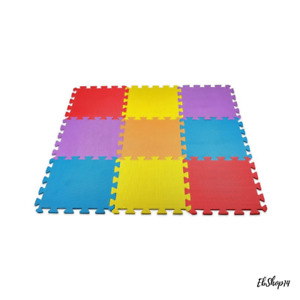 Safety Floor Play Mat for Kids Solid Foam Exercise Puzzle Mats 10 Square Ft Best
