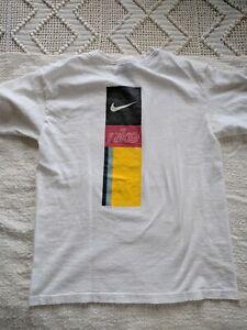 HTF rare vintage Nike swoosh Banner T-shirt