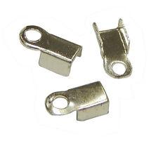 100 Endkappen Metall Kappen 8mm für Halskette Armbänder Schmuck Basteln BEST M24
