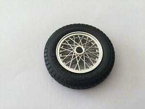 roue jante pneu continental pièce détachée burago bugatti type 59 1934 1/18