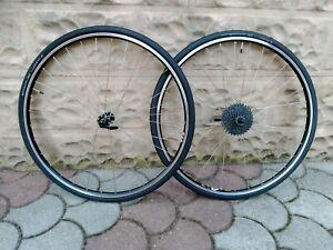 Coppia Ruote Bici Corsa Gravel 700c  Shimano 105 HB7000 Mavic A119 Inox