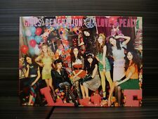 Girls' Generation LOVE & PEACE 3rd japan album 2013 (CD+Blu-ray)