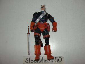 """DC Universe Classics Deathstroke Action Figure Mattel 2008 6"""" Wave 3 Unmasked"""