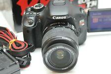 Canon EOS Rebel T3i DSLR Camera & EF-S 18-55mm IS II Lens