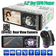 4.1'' HD 1 DIN AUTORADIO LETTORE bluetooth radio usb / TF / FM / AUX-IN W/CAMERA