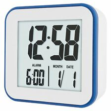Acctim Knox Crescendo Alarm Clock Large Display LCD 12cm 15012 Snooze