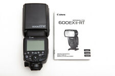 Canon Speedlite 600EX II-RT 600EXII Shoe Mount Flash for Canon - Barely Used!
