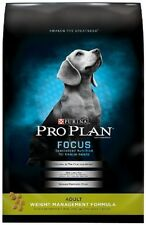 Purina Pro Plan Focus Dry Adult Dog Food Weight Management  With Probiotic 34lb