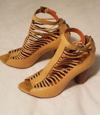 Rebecca Minkoff Patricia Strappy Gladiator Nude Heels 6.5
