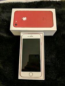 Apple iPhone 7  RED 128GB Sim Free A1778 Refurbished Grade A Pristine Condition