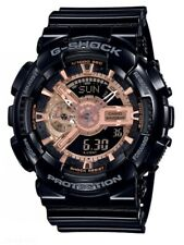 Casio G-Shock *GA110MMC-1A Anadigi Rose Gold & Glossy Black Resin Watch