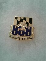 Authentic US Army 313th Infantry Regiment Unit DI DUI Crest Insignia G-23