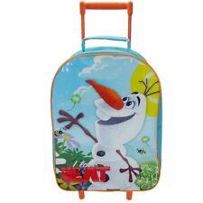 Disney Frozen 'Olaf' School Travel Trolley Roller Wheeled Bag Brand New Gift