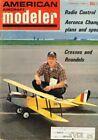 AMERICAN AIRCRAFT MODELER January 1968  Magazine The Dee Bee: R/C Pattern
