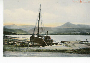 """ SCOTLAND "" BRODICK   GOATFELL  FROM  PIER     1904/17s"
