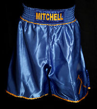 *New* Kevin Mitchell Signed Custom Made Boxing Trunks