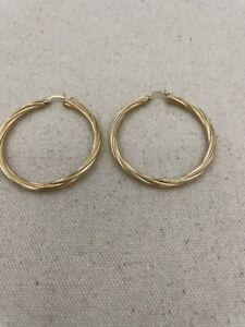 Gold Earrings 14K Yellow Gold 3.9dwt (PC0000529)
