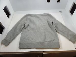 Nike Youth Kids Zip Up Hoodie Gray Size Small