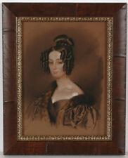 "Franz Krueger-Attrib. ""Portrait of a young aristocratic lady"", drawing, ca.1830"