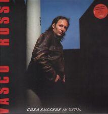 """VASCO ROSSI - LP 33 GIRI EDIZIONE LIMITATA VINILE ROSSO """" COSA SUCCEDE IN CITTA'"""