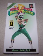 Mighty Morphin Power Rangers - Green With Evil, Pt. 2 (VHS)