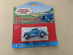 ERTL Rare THE FAT  CONTROLLER'S CAR Thomas  Mint on CARD 1996 #4388