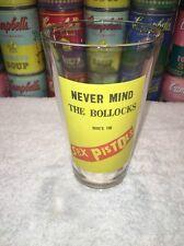 Rare & hard-to-find Sex Pistols Nevermind the Bullocks Pint Glass 2005 Bravado