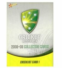 Cricket Trading Cards Set Select Season 2008