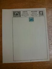 Iceland Used Stamp x1 1939