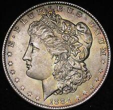 1884-O Morgan Dollar CHOICE BU TONED  FREE SHIPPING E403