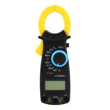Portable Digital Clamp Multimeter AC DC Volt Voltage Amp Electronic Tester